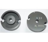 Feritové jádro - hrníček P36x23, materiál H22, Al8000 - pár