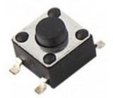 Mikrospínač KFC-045B-3,8, 4,5x4,5mm v=3,8mm pro SMD