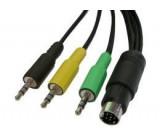 Kabel Audio G9 - 3x Jack 3,5 stereo, 2m