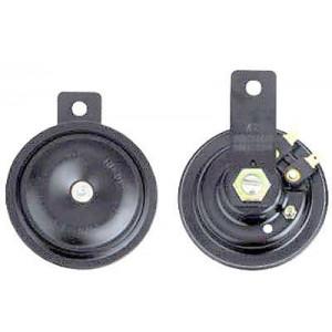 Houkačka, klakson 12V, 115dB/m, 2ks, disk 90mm