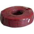 Dvojlinka 2x1,5mm2 CU,16AWG červeno-černá, balení 100m /CYH 2x1,5mm/