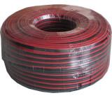 Dvojlinka 2x2,5mm2 CU,13AWG červeno-černá, balení 100m /CYH 2x2,5mm/