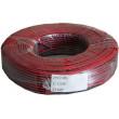 Dvojlinka 2x0,35mm2 CU, 22AWG červeno-černá, balení 100m /CYH 2x0,35mm