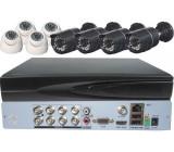 Kamerový systém 720P JW108K-V10 (DVR+8kamer CMOS) BEZ VZD. PŘÍSTUPU