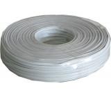 Telefonní kabel - 4linka bílá, balení 100m