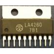 LA4260 - nf zesilovač 2x2,5W,Ucc=14-22V,FSIP-10