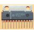 AN7168 - nf zesilovač 2x5,7W, SIP12