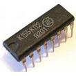 74153 - 2x 4vstup. multiplexer, DIL16 /K155KP2/