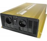 Měnič napětí 24V/230V 3000W, Soluowill NP3000, čistá sinusovka