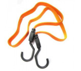 Gumový upínač, gumicuk, 1,0m, 16mm, oranžový