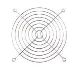 Mřížka ventilátoru kovová 92x92 SUNON FG-09