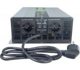 Měnič napětí+UPS+nabíječ 12V/230V/1500W, Soluowill NPS1500, čistá sin.