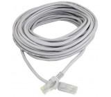 UTP kabel Patch RJ45 20m šedý cat5