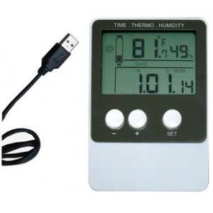 Teploměr + vlhkoměr DS102 se záznamem - USB Datalogger