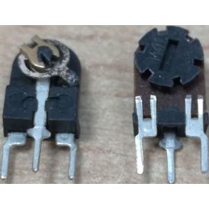 4k7 - TP005, trimr lakosazový stojatý RM5x2,5mm