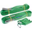 Zvedací pás nosnost 2000kg, délka 4m, zelený