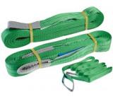 Zvedací pás nosnost 2000kg, délka 5m, zelený