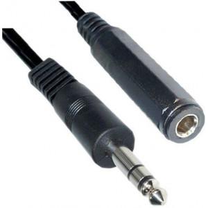 Kabel prodlužovací Jack 6,3 stereo 3m