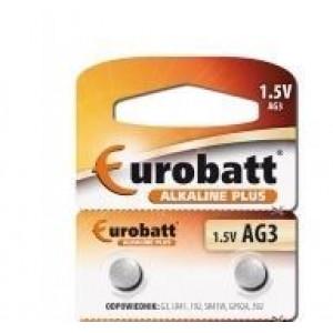 Baterie EUROBATT LR41(AG3,LR736,GP392) alkalická