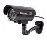 Atrapa kamery IR CCD, venkovní černá, CT