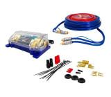 Napájecí a signál.kabely k autozesilovači LTC C02