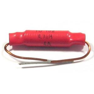 Indukčnost axiální TD102 6,3uH 500V/4A