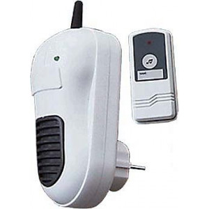 Bezdrátový zvonek 230V do zásuvky s transformátorem, 433MHz