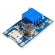 Napájecí modul, step-up měnič 2A s MT3608 s USB micro