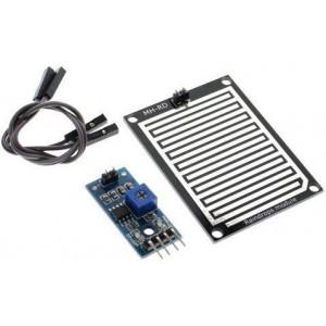 Senzor dešťě včetně sondy, modul s LM393