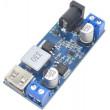 Napájecí modul, step-down měnič 12-24V na 5V/5A, USB+svorkovnice