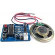 Hlasový záznamník s ISD1820 - modul pro záznam zvuku s reproduktorem