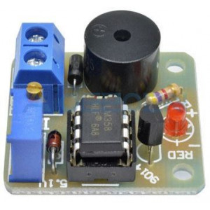 Signalizace vybité baterie 12V - STAVEBNICE
