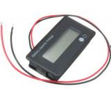 Voltmetr 8-70V a ukazatel kapacity baterie 12-50,4V JS-C32