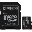 Paměťová karta KINGSTON micro SDHC 64GB Class 10 + adaptér