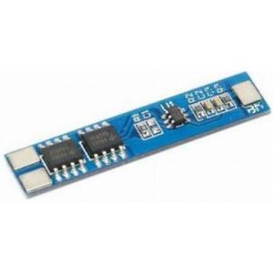 Ochranný obvod a balancér pro 2 Li-Ion články 18650, proud do 5A