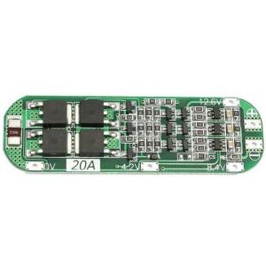 Ochranný obvod a balancér pro 3 Li-Ion články 18650, proud do 20A