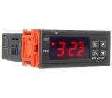 Digitální termostat STC-1000, rozsah -50 ~ +99°C, napájení 12V