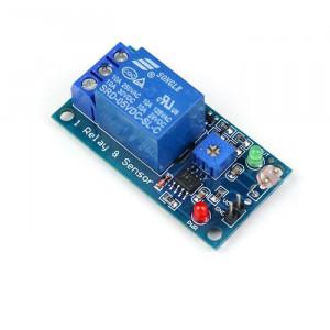 Světelný spínač, světlocitlivý senzor s relé, modul s LM393