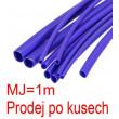 Smršťovací bužírka 1,5/0,75mm modrá, balení 1m
