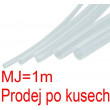 Smršťovací bužírka 1,5/0,75mm čirá, balení 1m