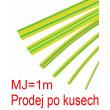 Smršťovací bužírka 3,0/1,5mm žlutozelená, balení 1m