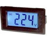 JYX85-panelový LCD MP 600V= 70x40x25mm,napájení 6-12V=