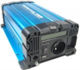 Měnič napětí 24V/230V 1000W, Solarvertech FS1000, čistá sinusovka