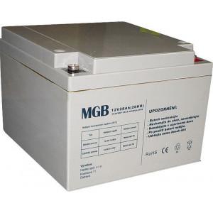 Pb akumulátor MGB VRLA AGM 12V/28Ah