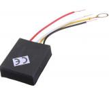 Dotykový spínač se stmívačem 230V/60W - modul s drátovými vývody