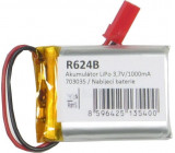Akumulátor LiPo 3,7V/1000mAh 703035 /Nabíjecí baterie Li-Pol/