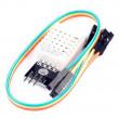 Teplotní čidlo a vlhkoměr DHT22/AM2302 - modul s káblíkem