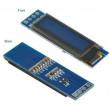 "Displej OLED 0,91"", 128x32 znaky, IIC/I2C, 4piny, modrý"