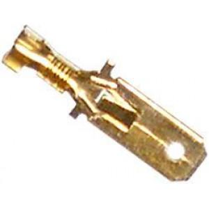 Faston-konektor 6,3mm se zámkem, kabel 1,5mm2
