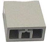 Hmatník pro isostat světle šedý 15x17x8mm
